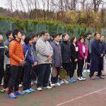 秋田・札幌整形外科合同セミナーテニス大会